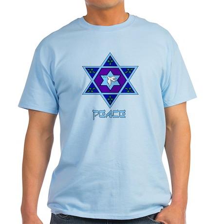 Peace For Hanukkah Light T-Shirt