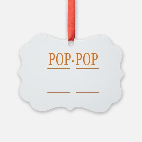 Cute Poppop Ornament