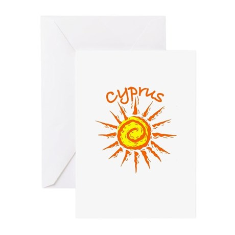 Cyprus Greeting Cards (Pk of 10)