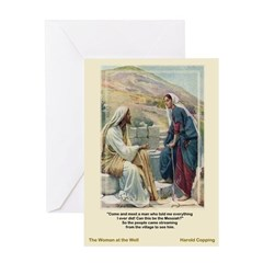 Woman at the Well-Copping-Greeting Card