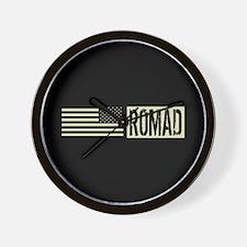 U.S. Air Force: ROMAD (Black Flag) Wall Clock