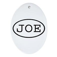 JOE Oval Oval Ornament