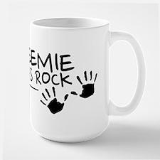 Preemie Moms Rock logo Mugs