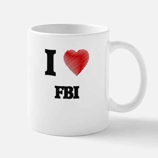 I love Fbi Mugs