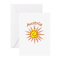 Austria Greeting Cards (Pk of 10)