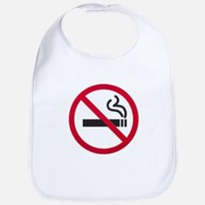 No Smoking Sign Bib
