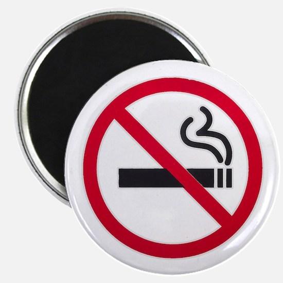 No Smoking Sign Magnets