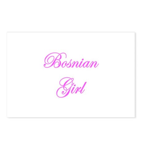 Bosnian Girl Postcards (Package of 8)