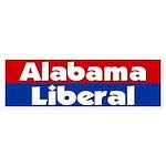 Alabama Liberal Bumper Sticker