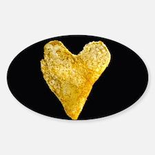 Heart Shaped Potato Chip Decal