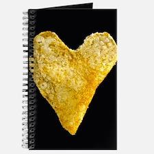 Heart Shaped Potato Chip Journal