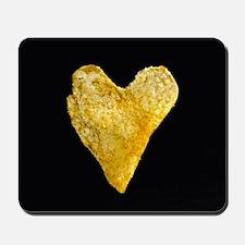 Heart Shaped Potato Chip Mousepad