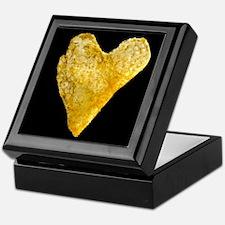 Heart Shaped Potato Chip Keepsake Box