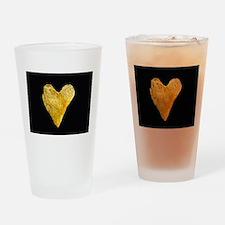 Heart Shaped Potato Chip Drinking Glass