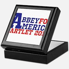 Abbey For America Bartlet 2016 Keepsake Box