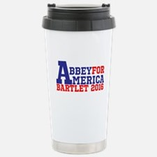 Abbey For America Bartlet 2016 Travel Mug