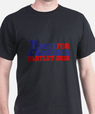 Abbey For America Bartlet 2016 T-Shirt