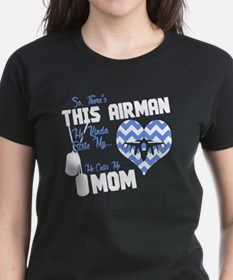 Unique Proud aunt air force Tee