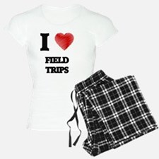 I love Field Trips Pajamas