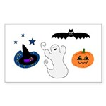 HALLOWEEN Rectangle Sticker