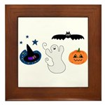 HALLOWEEN Framed Tile