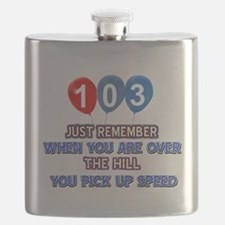 103 year old designs Flask