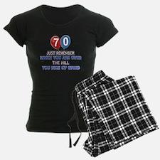 70 year old designs Pajamas