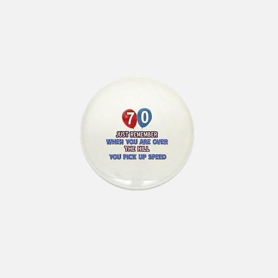 70 year old designs Mini Button