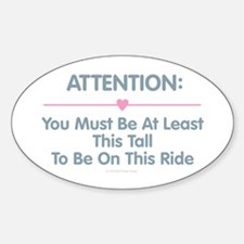 This Tall Ride Decal