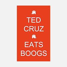 Cruz Eats Boogs Decal