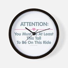 This Tall Ride Wall Clock