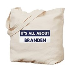 All about BRANDEN Tote Bag