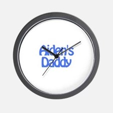 Aiden's Daddy Wall Clock