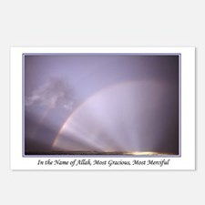 In the Name of Allah/Rainbow Postcards (8Pk)