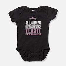 flight attendant Baby Bodysuit