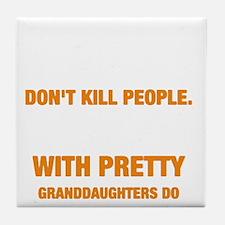 Cute Kill Tile Coaster