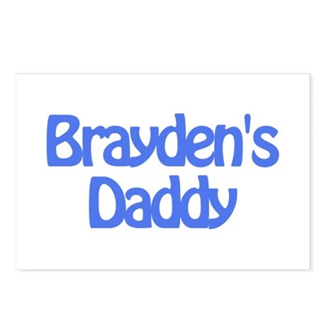 Brayden's Daddy Postcards (Package of 8)