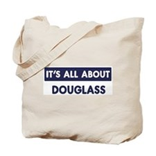All about DOUGLASS Tote Bag