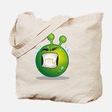 Unique Green aliens Tote Bag