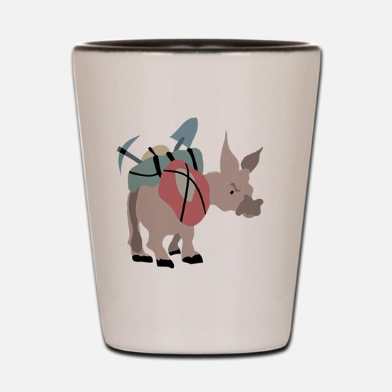 Unique Mule Shot Glass