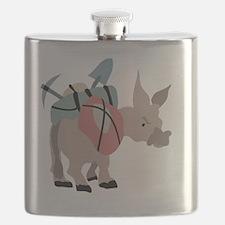 Cute Mule Flask