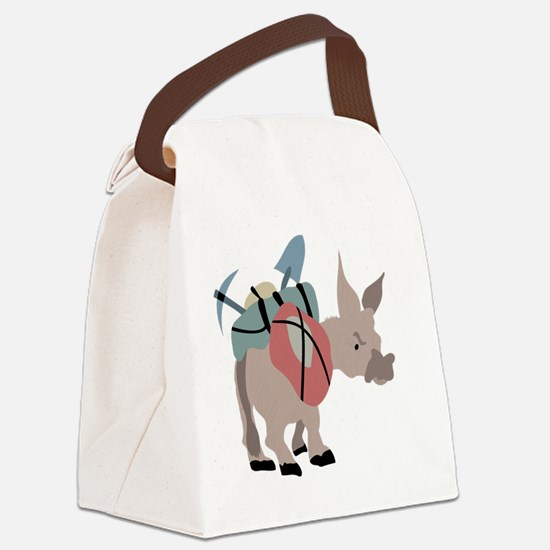 Cute Pack Canvas Lunch Bag