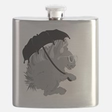Cute Squirrel glasses Flask