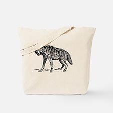 Funny Hyena Tote Bag