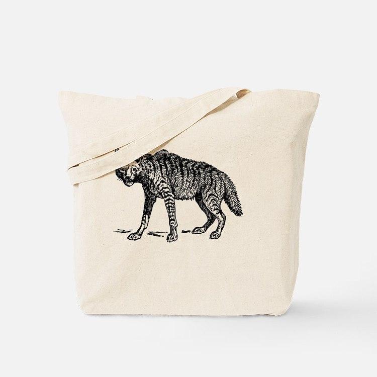 Cute Hyena Tote Bag