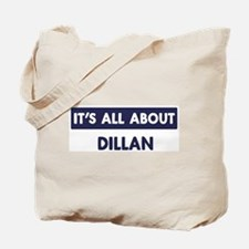 All about DILLAN Tote Bag