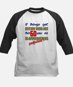 This 60 year old is approachi Kids Baseball Jersey