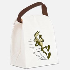 Unique Runner Canvas Lunch Bag
