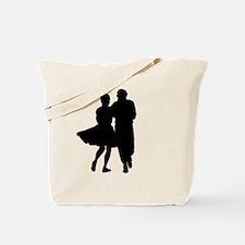 Unique Couple dancing Tote Bag