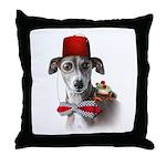 Italian Greyhound Adventure Throw Pillow
